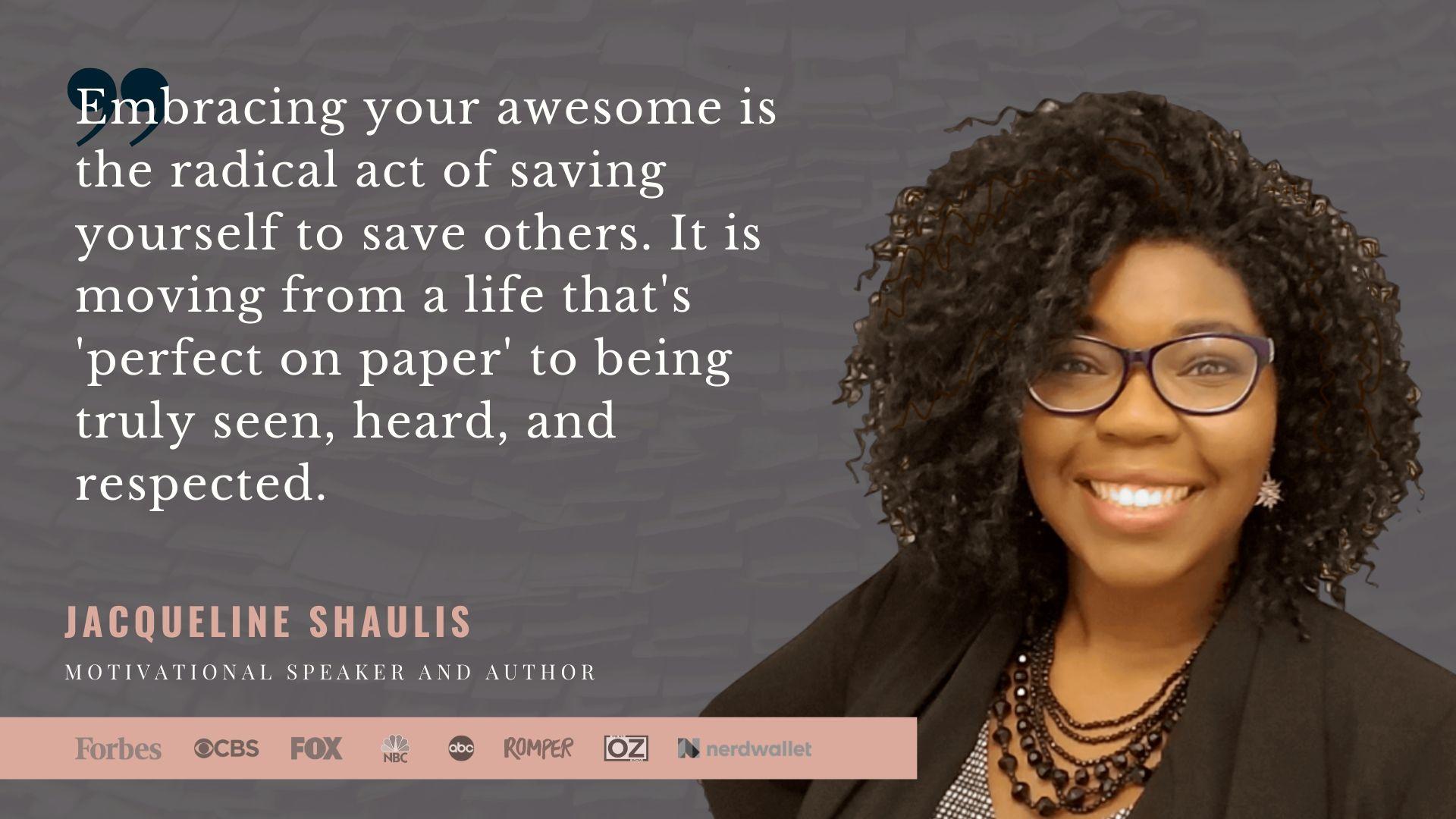 Jacqueline Shaulis - Bestselling author and international speaker